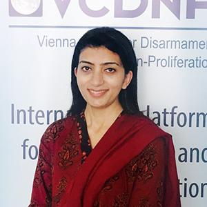 Sitara Noor, VCDNP Research Fellow